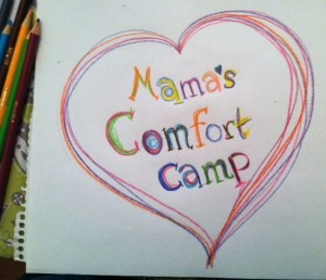 Mama's Comfort Camp Drawing