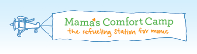 Mama's Comfort Camp-plane-logo